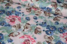100% Cotton Flower Print Fabric