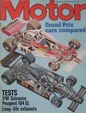 Motor magazine 12/2/1977 featuring VW Scirocco road test, Peugeot