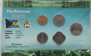 The Bahamas Coin Set in Holder Uncirculated