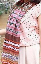 MOTHERS DAY GIFT - LADY'S PINK SCARF Geometric Print SCARF- FREE POSTAGE