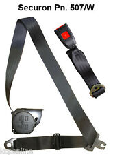 NEW Securon Seat Belt Campervan Lap & Diagonal Belt x1 507/W / Rock and roll bed