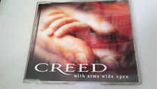 "CREED ""WITH ARMS WIDE OPEN"" CD SINGLE 2 TRACKS COMO NUEVO"