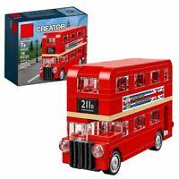 LEGO-V29 40220 CREATOR DOUBLE DECKER RED LONDON BUS-RETIRED SET RARE KIT-(h)