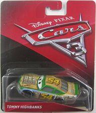 Disney Pixar Cars 3 Movie - TOMMY HIGHBANKS #54 - FAUX WHEEL DRIVE - NIP