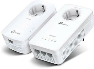 TP-LINK TL-WPA8631 Kit Gigabit WLAN WiFi Powerline Adapter Set Steckdose AV1300