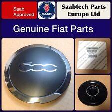 GENUINE FIAT 500 ALLOY WHEEL CENTRE CAP/EMBLEM X1 - BRAND NEW 51884863