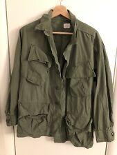 Us Army Vietnam Era Fatigue Poplin Shirt