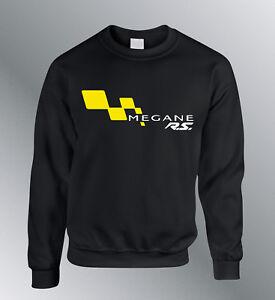 Sweat Shirt Megane Rs Auto Sweatshirt Sweater S M L XL XXL Pullover Megane