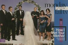 Cobie Smulders, Josh Radnor, Alyson Hannigan, HIMYM 4pg EW feature, clippings
