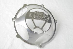 """Ducati KBIKE clutch cover """"Desmo"""" open silver NEW"""