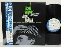 Jackie McLean - A Fickle Sonance LP 1990 Japan Blue Note Jazz Hard Bop w/ obi