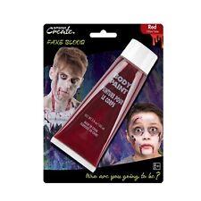 100ml artificial red vampire zombie blood sfx makeup artist tube