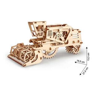 Ugears - Wood Model Building Combine Harvester 154 Pieces