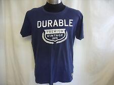 """Mens T-Shirt Jack & Jones, size XL, blue & designer logo, chest 44"""", cotton 0436"""