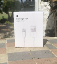 1M Genuine Original Apple USB Lightning Cable Charger iPhone 11 X 8 7 6 5 iPad