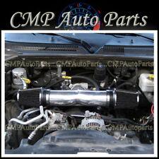 BLACK DUAL TWIN AIR INTAKE KIT FOR 2008-2010 DODGE RAM 1500 4.7 V8 ENGINE