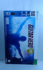 Guitar Hero Xbox 360 game complete including strap new open box