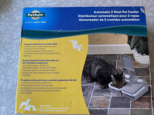New listing PetSafe Eatwell 2 Meal Timed Automatic Pet Feeder Pfd11-13706. Brand New In Box