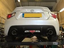 TOYOTA GT86 STAINLESS STEEL EXHAUST