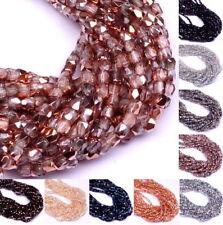 150x Preciosa Glasschliffperlen 2mm handgeschliffen Glasperlen Schmuck Perlen