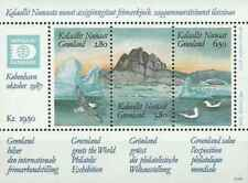 Timbres Oiseaux Groenland BF1 ** lot 28532