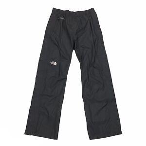 The North Face Men's Hyvent DT Rain Pants Black Size M Medium Side Zips