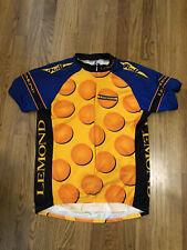 Vintage Lemond Rolf road bike cycling jersey Mens medium