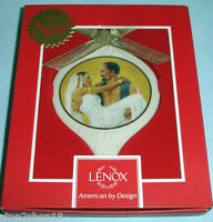 Thomas Blackshear Ebony Visions Ornament Love For A Lifetime by Lenox New