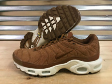 1f05cd8939bd11 NEW Men s Nike Air Max Plus Quilted Brown Running Shoes 806262-200 Size 9