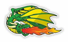 Dragon Fire Sticker Tattoo Car Motorcycle #19