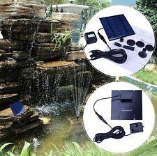 Mini Solar Power Wasserpumpe Teichpumpe Solarteichpumpe Gartenpumpe Pumpe Kit HD