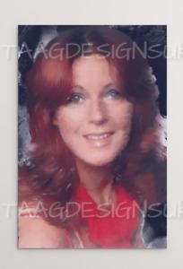 ANNI FRID LYNGSTAD Photo Board Print Portrait Painting 80cm x120cm ABBA Pop Icon