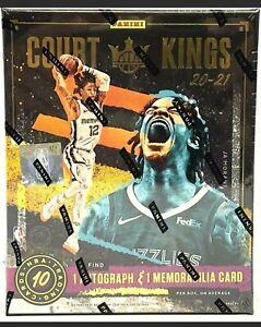 2020-21 Panini Court Kings Basketball Hobby Box Factory Sealed NEW.