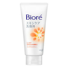 Kao Biore Skin Care Face Wash Facial Cleanser 130g Rich Moisture Made In Japan