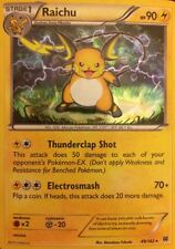 Raichu 49/162 XY Breakthrough Rare HOLO NM/MINT Pokemon Card Theme Excl