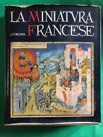 Jean Porcher - La miniatura francese - 1959, Electa