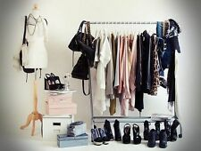 IKEA RIGGA Clothes rack,WHITE + Monsoon Offer FREE GIFT