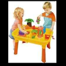 TABLE DE JEU PLAGE SABLE EAU + 20 P ENFANT JOUET JARDIN MAISON CAMPING EVEIL 25
