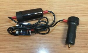 Monster Red / Black Ipod DC Car Lighter Charger Adapter (10111003096) **READ**