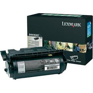 Original Toner Lexmark Optra T644 T644N / 64416XE mit 32K Cartridge OVP