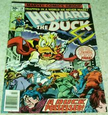 Howard the Duck 14, Vf (8.0), 1977, Son of Satan imitation cover!