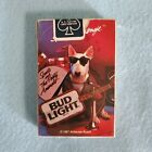 """VINTAGE - BUD LIGHT ORIGINAL """"SPUD'S MACKENZIE"""" PLAYING CARDS 1987 LOOK!!"""
