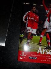 Away Teams S-Z Written - on Premiership Football Programmes