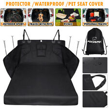 Waterproof Pet Dog Cat Car Boot Seat Cover Suv Trunk Protector Liner Seat Usa