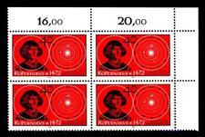 758 ** Eckrand-Vierer o.r. (Nikolaus Kopernikus)