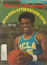 UCLA BRUINS SIDNEY WICKS 1970 SPORTS ILLUSTRATED 3X CHAMPION WOODEN ALL AMERICAN