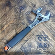 Bahco 9073 Black ERGO Adjustable Wrench 300mm (12in) BAH9073 Wide Jaw.