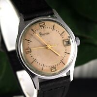 Vostok Slim Thin Vintage Soviet Russian Men's USSR Original Wristwatch Wostok