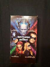 Batman & Robin VHS Tape George Clooney NIB