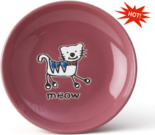 New listing 5-inch Cat Plate Diameter 2.5-Ounce for wet or dry food